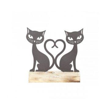 Figura gatitos amorosos